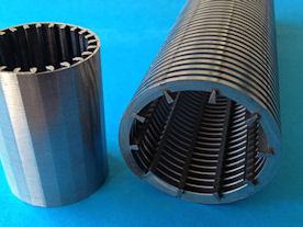 V-wire filter element