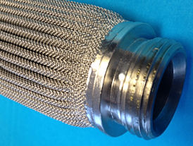 pleated mesh filter (hydraulic)