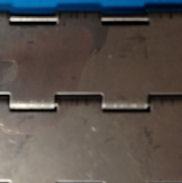 Closed plate belt