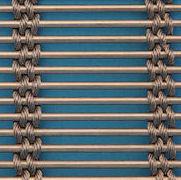 Open cable mesh belt
