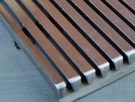 Detailed example welded v-wire mesh